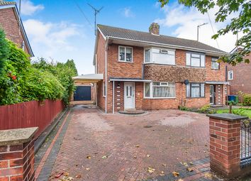 Thumbnail 3 bed semi-detached house for sale in Mount Drive, Wisbech