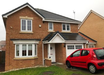 Thumbnail 4 bed detached house for sale in Holly Crescent, Sacriston, Durham