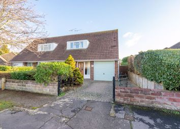 Thumbnail 2 bed semi-detached house for sale in Crosbie Close, Chichester
