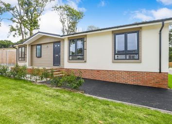 Thumbnail 2 bed mobile/park home for sale in Emms Lane, Brooks Green, Horsham