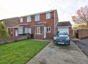 Thumbnail 2 bed semi-detached house for sale in Reed Avenue, Camperdown, Newcastle Upon Tyne