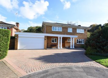 Thumbnail 4 bed detached house for sale in Grosvenor Court, Blackwater, Camberley