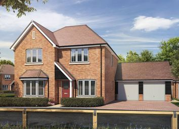 """Thumbnail 4 bedroom detached house for sale in """"The Nenhurst"""" at St. Legers Way, Riseley, Reading"""