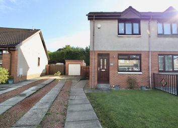 Thumbnail 2 bed semi-detached house for sale in Leander Crescent, Mossend, Bellshill