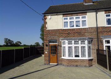 Thumbnail 2 bed semi-detached house to rent in Hinckley Road, Dadlington, Nuneaton