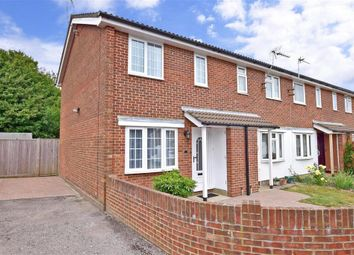 Thumbnail 2 bed end terrace house for sale in Pine Way, Folkestone, Kent