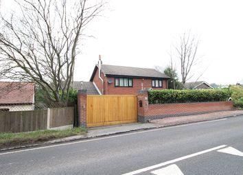 Thumbnail 3 bed detached house for sale in Newcastle Road, Loggerheads, Market Drayton