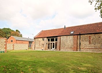 Thumbnail 4 bed barn conversion for sale in Green Farm Drive, Paston, North Walsham