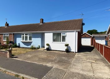 Thumbnail 2 bed semi-detached bungalow for sale in Cranworth Gardens, Oulton, Lowestoft
