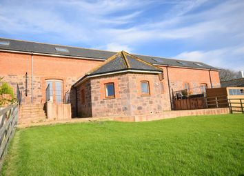Thumbnail 4 bedroom barn conversion for sale in Clyst St. Lawrence, Cullompton