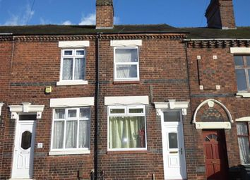 Thumbnail 3 bed terraced house for sale in Franklyn Street, Hanley, Stoke-On-Trent