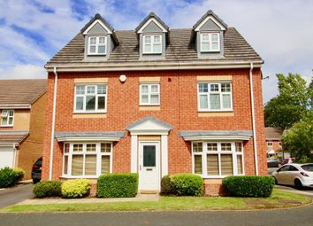 Thumbnail 5 bed detached house for sale in Richardson Way, Rugeley, Staffs