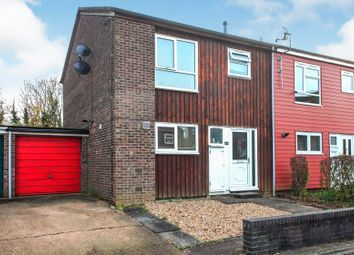 Thumbnail 3 bedroom end terrace house for sale in Oldbrook, Bretton, Peterborough