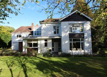 Thumbnail 6 bed detached house for sale in Hollybush Road, Cyncoed, Cardiff