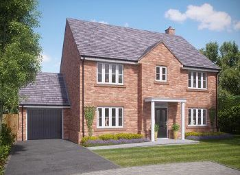 Thumbnail 4 bed detached house for sale in St. Wilfrids Court, Church Street, Davenham, Northwich