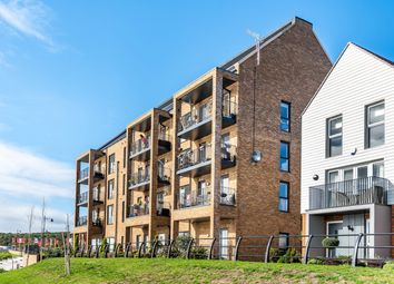 Thumbnail 2 bed flat for sale in Knights Templar Way, Rochester