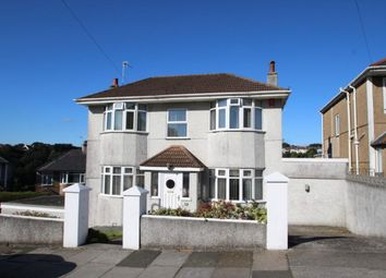 Thumbnail 4 bed detached house for sale in Efford Crescent, Higher Compton, Plymouth