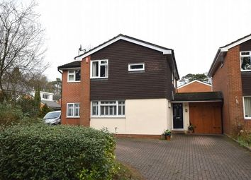 Thumbnail 4 bed detached house for sale in Buttermere Drive, Camberley, Surrey
