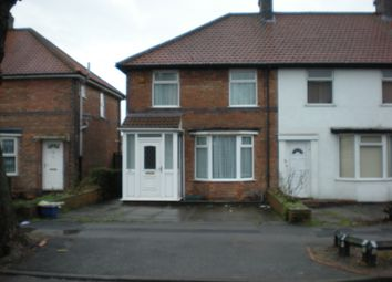 Thumbnail End terrace house to rent in Starbank, Small Heath