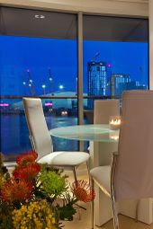 Thumbnail 3 bedroom flat for sale in New Providence Wharf, London