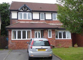 Thumbnail 4 bedroom detached house for sale in Rushfield Gardens, Bridgend, Bridgend.