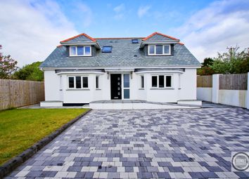Thumbnail 4 bed detached house for sale in Coombe Road, St Austell