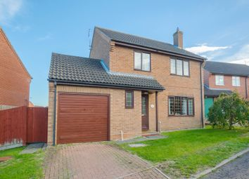 Thumbnail 4 bed detached house for sale in Meadowsweet Close, Haverhill