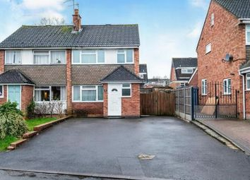 Thumbnail 3 bed semi-detached house for sale in Sackville Close, Stratford Upon Avon, Warwickshire
