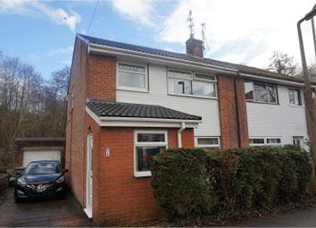 Thumbnail 3 bed semi-detached house for sale in Dan-Yr-Allt Close, Pontypridd