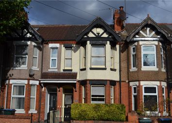 Thumbnail 3 bed terraced house for sale in Earlsdon Avenue North, Earlsdon, Coventry, West Midlands