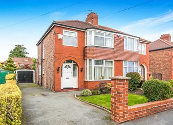 Thumbnail 3 bed semi-detached house for sale in Mossdale Road, Sale