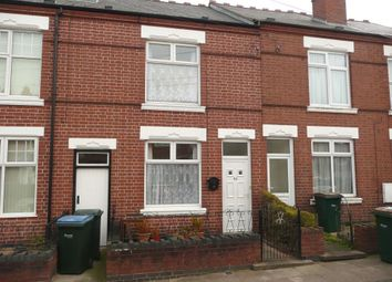 Thumbnail 2 bedroom terraced house to rent in Sir Thomas Whites Road, Chapelfields, Coventry