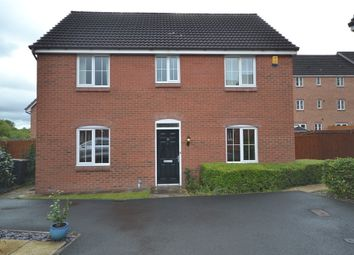 Thumbnail 4 bedroom detached house for sale in Chervil Close, Clayton, Newcastle-Under-Lyme