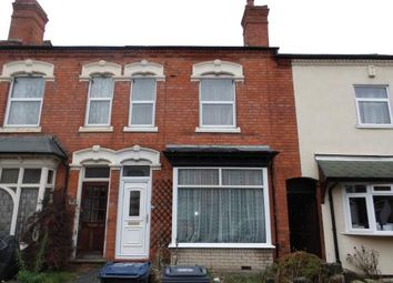 Thumbnail 3 bed terraced house for sale in Florence Road, Acocks Green, Birmingham, West Midlands
