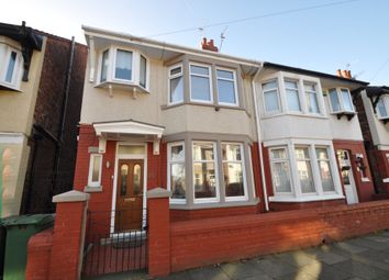 Thumbnail 3 bed semi-detached house for sale in Leominster Road, Wallasey