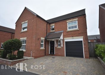 Thumbnail 4 bed detached house for sale in Heys Hunt Avenue, Leyland