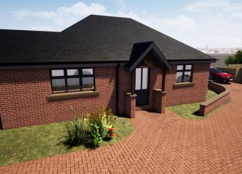 Thumbnail 2 bed detached bungalow for sale in Plot 3, New Builds, Haddon Street, Sutton-In-Ashfield