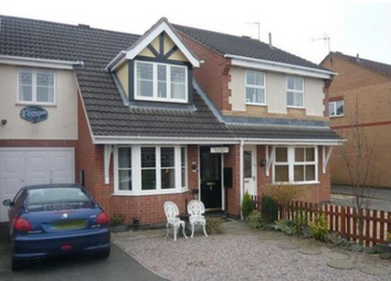Thumbnail 3 bed semi-detached house to rent in Lancelot Close, Leicester Forest East