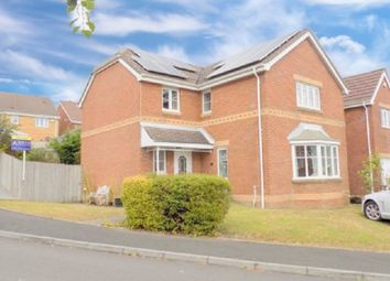 Thumbnail 4 bed detached house for sale in Parc Penscynnor, Cilfrew, Neath, Neath Port Talbot.