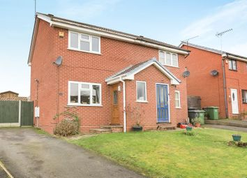 Thumbnail 2 bed semi-detached house for sale in Naylor Close, Kidderminster