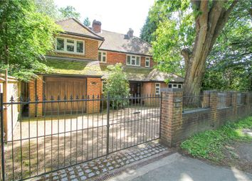 Thumbnail 4 bed detached house for sale in London Road, Camberley, Surrey