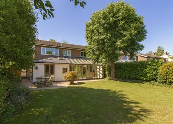 Thumbnail 5 bedroom detached house for sale in Stukeley Close, Cambridge