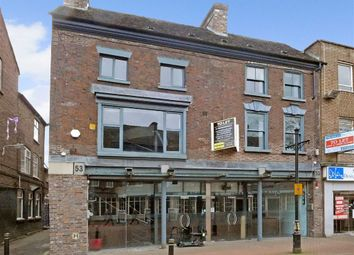 Thumbnail Restaurant/cafe for sale in Ironmarket, Newcastle-Under-Lyme, Staffordshire