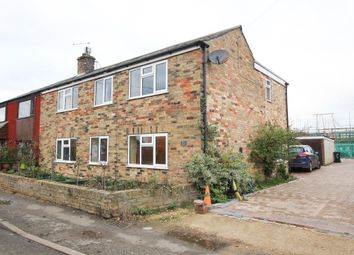 Thumbnail 4 bed semi-detached house for sale in West End, Haddenham, Ely