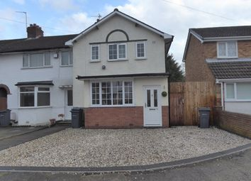 Thumbnail 3 bedroom end terrace house for sale in Lanchester Road, Kings Norton, Birmingham