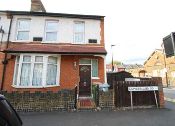 Thumbnail 3 bed end terrace house for sale in Cumberland Road, London