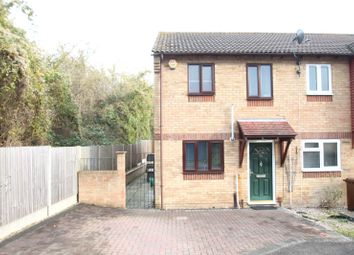Thumbnail 2 bed end terrace house for sale in Redwing Road, Chatham, Kent