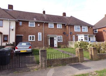 Thumbnail 3 bedroom terraced house for sale in Roebuck Road, Walsall, West Midlands