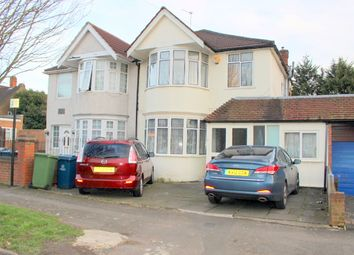 Thumbnail 3 bed semi-detached house to rent in Weighton Road, Harrow Weald