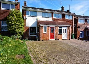 Thumbnail 3 bed semi-detached house for sale in Stukeley Road, Basingstoke